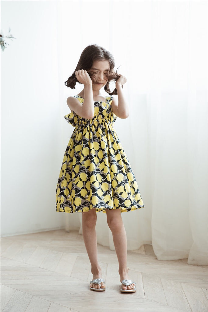 3-15Y Girls Floral Dress G21032G (Mother sizes available)