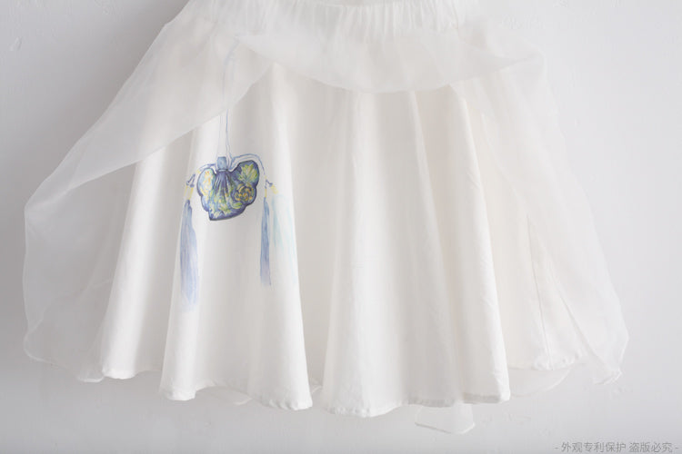 2-8Y Girls Traditional Tulle Skirt A200C31J
