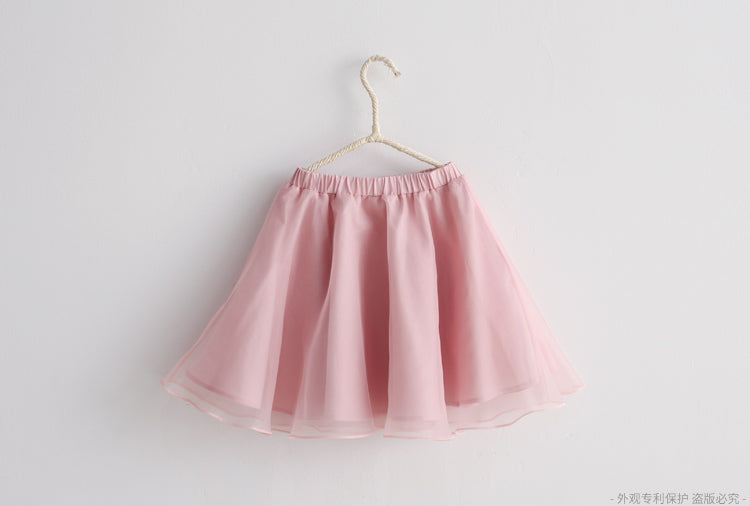 2-8Y Girls Traditional Tulle Skirt A200C31I