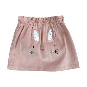 Girls Bunny Mini Skirt A20414A