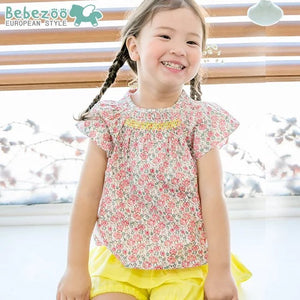 1-4Y Bebezoo Girls Floral Top K2011J