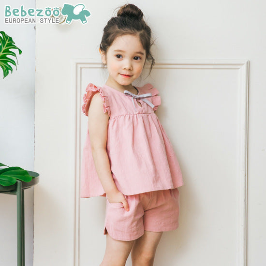 1-6Y Bebezoo Top and Bottom 2pcs Set K20121G
