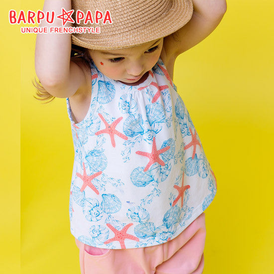 1-8Y Bebezoo Girls Top and Bottom 2pcs Set K2012L