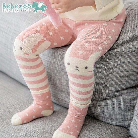 1-3Y Bebezoo Baby Clothes Legging + Socks Set K4012C