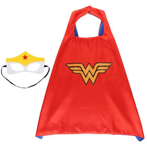 Children Super Hero Cape and Mask Costume Cosplay Set K6021B