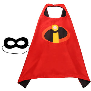 Children Super Hero Cape and Mask Costume Cosplay Set K6021C