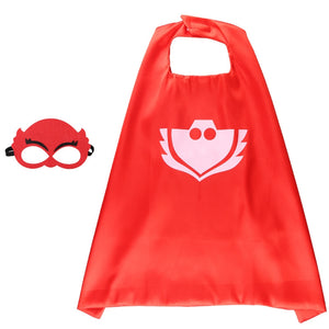 Children Super Hero Cape and Mask Costume Cosplay Set K6021D