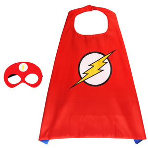 Children Super Hero Cape and Mask Costume Cosplay Set K6021E