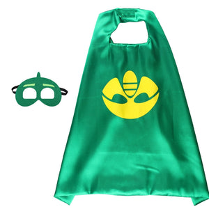 Children Super Hero Cape and Mask Costume Cosplay Set K6021G