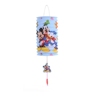 DIY Cartoon Lantern with LED light and Stick LT1001E