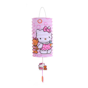 DIY Cartoon Lantern with LED light and Stick LT1001H
