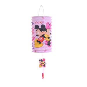 DIY Cartoon Lantern with LED light and Stick LT1001I