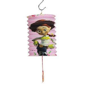 DIY Cartoon Lantern with LED light and Stick LT1002D