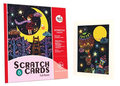 Joan Miro Story Scratch Cards Set MD1037A/ MD1037B/ MD1037C/ MD1037D