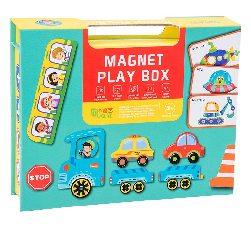 Magnetic Puzzle Games MD2019F