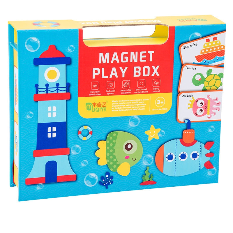 Magnetic Puzzle Games MD2019H