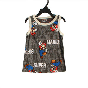 Super Mario Sleeveless Shirt A10433B