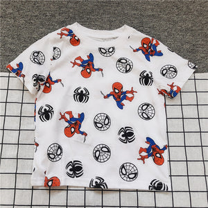 Boys Short Sleeves Spiderman Shirt A10431H