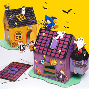 Make your own Halloween House HLW1032A/HLW1032B