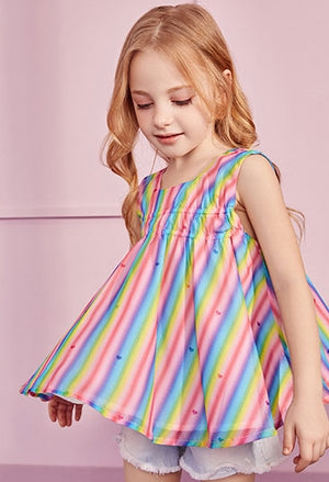 Girls Rainbow Blouse A20217A