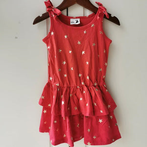 2-8Y Girls Layer Dress A20135B