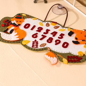 Make Your Own Felt Number Plate DIY Kit AC3014A