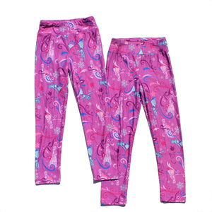 Girls Pink Legging Pants A20413F