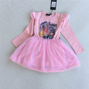 3-8Y Girls Princesses Tulle Dress G20131G