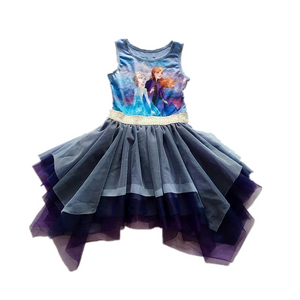 Frozen II Layers Tulle Dress G20131H