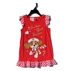Girls Skye Christmas Dress A20136A