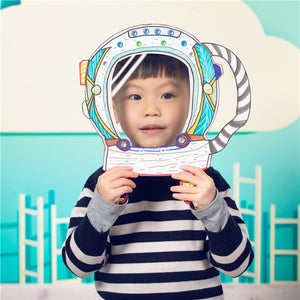 Make your own Astronaut Helmet DIY Set AC2302A