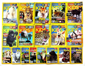 National Geographic Kids 18 Magazines BK2201A