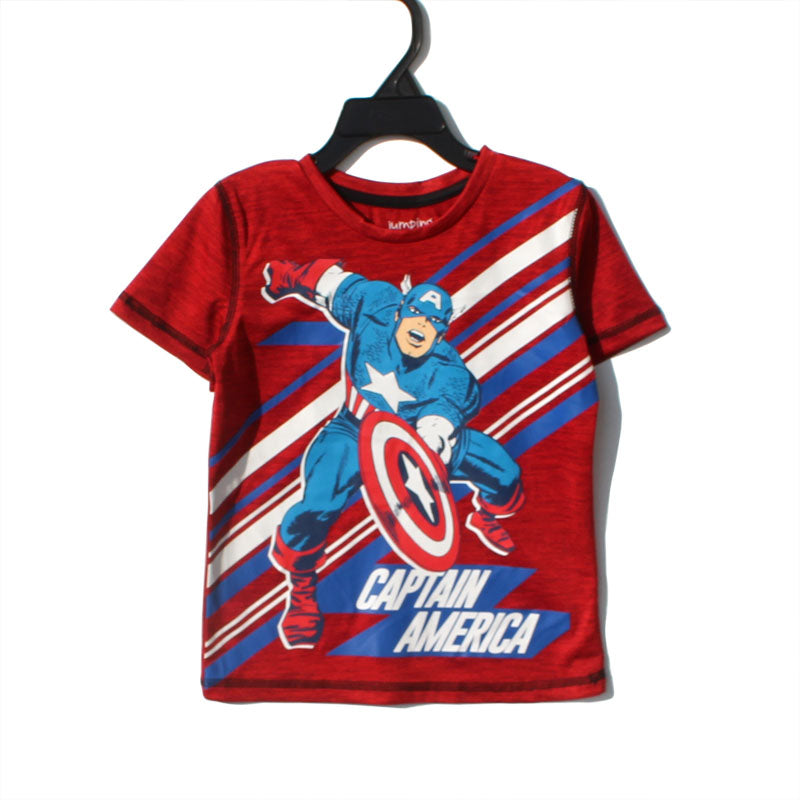 Captain America Superhero Active Dryfit Shirt A10433I