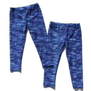 2-6Y Girls Blue Frozen Legging Pants A20413C