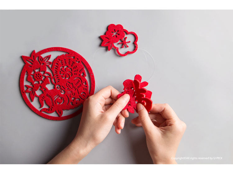 Chinese New Year Decoration Ornament A72231H