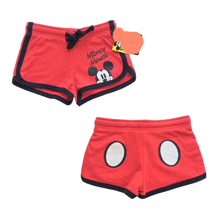 Red Short Pants A20451G