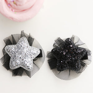 Kids 100% Handmade Star Hairclips A323G82N