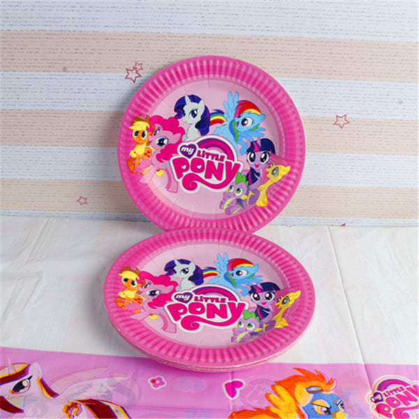 My Little Pony 7 inches Party Plates of 10pcs/pack P212A
