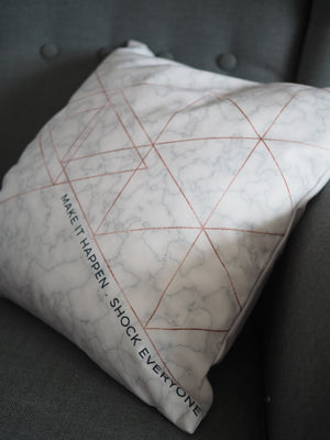 Flannel Double Sided Printed Singlish Cushion Covers PPD665C
