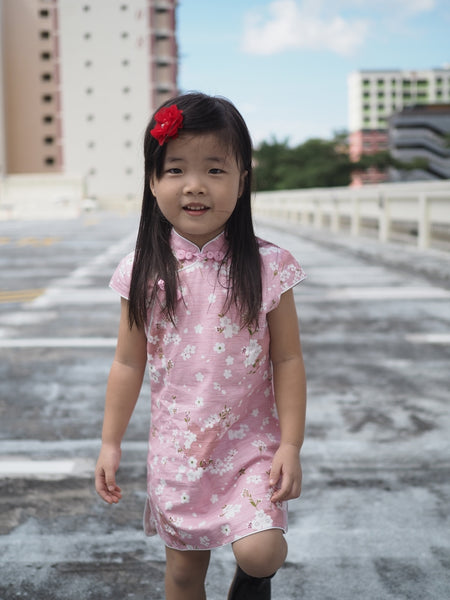2-10Y Girls Cheongsam Dress A200C62D