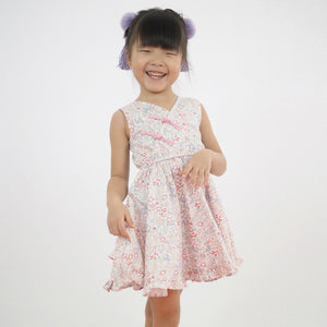1-8Y Girls Modern Cheongsam Twirl Dress A200CEE013C
