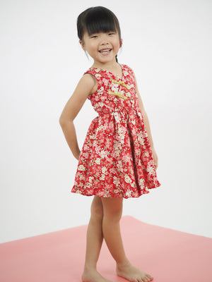 1-8Y Girls Modern Cheongsam Twirl Dress A200CEE013B