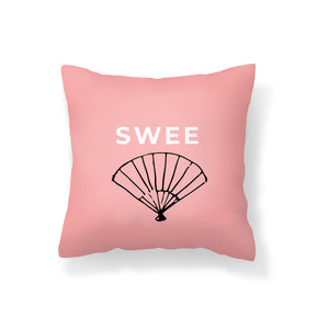 Flannel Double Sided Printed SWEE Singlish Cushion Covers PPD657D