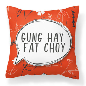 Flannel Double Sided Printed CNY Cushion Covers PPD658C