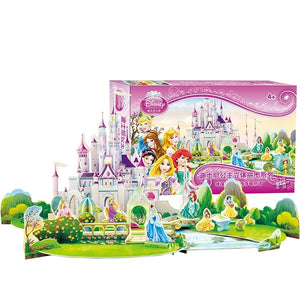 Children Princesses 3D Puzzle PZ1001B