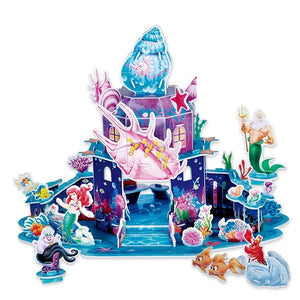 Children Little Mermaid 3D Puzzle PZ1001C