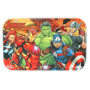 Children Avengers 60-Pieces Jigsaw Puzzle PZ1060C