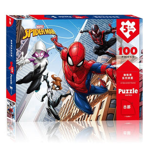 Children Spiderman 100-Pieces Jigsaw Puzzle PZ1100A