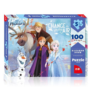 Children Frozen II 100-Pieces Jigsaw Puzzle PZ1100B