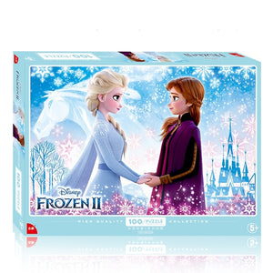 Children Frozen II 100-Pieces Jigsaw Puzzle PZ1100D
